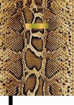 Schoolagenda Supertrash 2019/2020 - Goud bruin slangen leer look