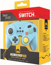 Steelplay Wired Neo Retro Controller Blue - Switch