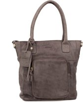 BURKELY Melany front compartment Shopper - Pebble