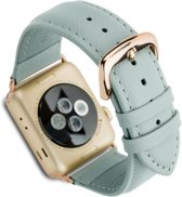 Dbramante Madrid Mode. Apple Watch Series Leather - misty mint - 38mm