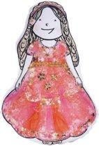 Beddinghouse Kids Dress-upp princess Sierkussen - 45x21 - Pink