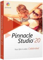 Pinnacle Studio 20 - Nederlands / Engels / Frans - Windows