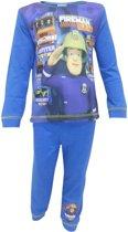 Brandweerman Sam pyjama maat 92/98 blauw