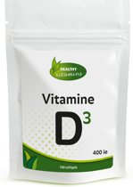 Vitamine D3 400 ie - 100 softgels