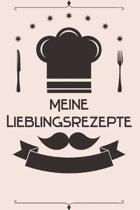 Meine Lieblingsrezepte: Kochbuch Rezepte-Buch liniert DinA 5, um eigene Rezepte und Lieblings-Gerichte zu notieren f�r K�chinnen und K�che