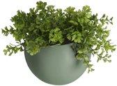 Pt Wand bloempot Globe - Green
