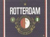 Feyenoord Vlag - Hand in Hand - Zwart