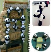 Magnetische pandaberen - 5 stuks