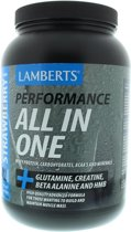 Lamberts Performance All-In-One Aardbei - 1450 gr