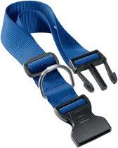 Adori Klikhalsband Nylon Blauw - Hondenhalsband - 45-70x2.5 cm