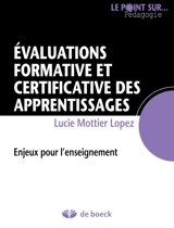 Évaluations formative et certificative des apprentissages