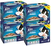 FELIX Elke Dag Feest Fusions - Vis - Kattenvoer - 4 x 12 x 100 g