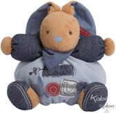 Kaloo Blue Denim - Konijn Liefdevol - Knuffel