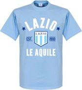 Lazio Roma Established T-Shirt - Lichtblauw - XL