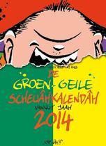 Groen-geile scheuâhkalendâh 2014. groen-geile scheuâhkalendâh vannut jaag 2014