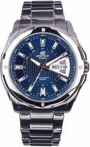 Casio Edifice EF-129D-2AVEF - Horloge - Staal - Zilverkleurig - 44.8 mm