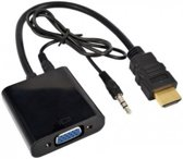 HDMI naar VGA + AUX-audio kabel adapter