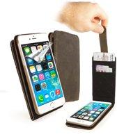 Tuff-Luv - Western Lederen  In-genius hoes met screenprotector voor iPhone 7 en iPhone 8 - Bruin