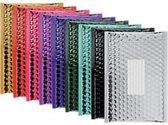 Metallic Luchtkussen Enveloppen  1 pakket a 10 stuks 18 x 26cm