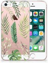iPhone SE | 5S Uniek TPU Hoesje Leaves