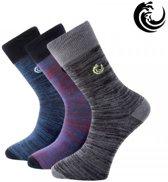Vinnie-G 3-pack heren sokken hoog-47-49