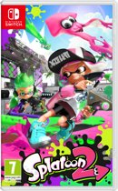 Cover van de game Splatoon 2 - Switch