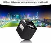 Panoramic 360-gradencamera met WIFI - 4k 360° VR Sport Action camera XDV360 + 16GB SD-kaart, 30m waterdichte case, 12-delige accessoire set en Nederlandse Handleiding!