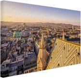 FotoCadeau.nl - Wenen vanuit een hoog punt Canvas 180x120 cm - Foto print op Canvas schilderij (Wanddecoratie)