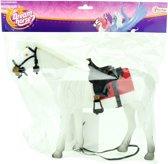 Toi-toys Paard Wit Met Accessoires 29 Cm