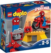 LEGO DUPLO Spider-Man Webmotor Werkplaats - 10607