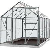 ACD serre 'Intro Grow Lily' polycarbonaat & aluminium grijs 6,2 m²