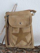 Stoer schoudertasje met ster