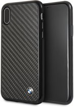 BMW Real Carbon Fiber Hard Case voor iPhone X / Xs