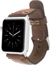 Bomonti Leather Leren bandje - Apple Watch Series 1/2/3 (42mm) - Bruin