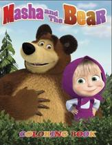 Masha and the Bear Coloring Book: Coloring Book for Kids and Adults with Fun, Easy, and Relaxing Coloring Pages (Coloring Books for Adults and Kids 2-