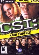 Crime Scene Investigation: Hard Evidence - Windows