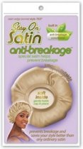 Stay on Satin Anti-Breakage Edge Bonnet Style 7637
