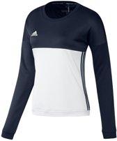 Adidas T16 Crew Sweat Women Navy - Maat: xx-small