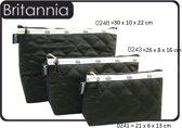 """Vagabond-Toilettas-"""" Britannia"""" 0243-afmeting 26 x 8 x 16 cm"""