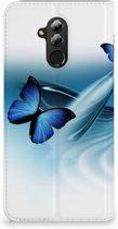Huawei Mate 20 Lite Uniek Standcase Hoesje Vlinders