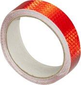 RM Veiligheidstape reflecterende tape Rood weerbestendige reflectietape 5 meter x 25 mm Reflector plakband zelfklevend voor fiets of (bedrijfs)auto etc.