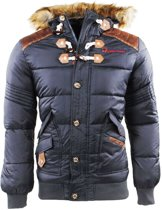 Geographical Norway - Heren - Winterjas met Bontkraag - Belephegore - Grijs