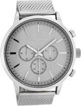 OOZOO Timepieces Zilver/Grijs horloge C8261 (48 mm)