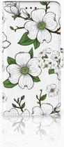 Samsung Galaxy J4 Plus (2018) Boekhoesje Design Dogwood Flowers