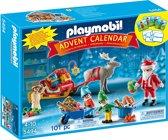 Playmobil Adventskalender Kerstman met geschenkjes - 5494