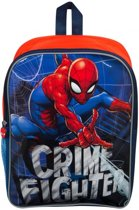 SPIDER-MAN Crime Fighter Rugzak Rugtas School Tas 5-10 jaar SPIDERMAN