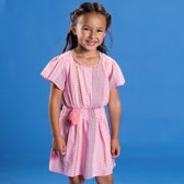 Mim-pi Meisjes Jurk - Roze - Maat 134