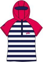 Yello Uv-werende Hoodie Stripes Junior Blauw/wit 4-5 Jaar