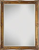 Spiegel - Yana- antiek goud - buitenmaten breed 81 cm x hoog 111 cm.