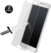 SMH Royal - 2 Stuks - Samsung J5 2016 Screenprotector Glass Glazen Tempered Gehard 2.5D 0.3MM 9H ( New Tech, Zeer Sterk )